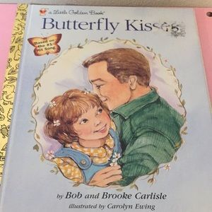Little Golden Book Butterfly Kisses collectible
